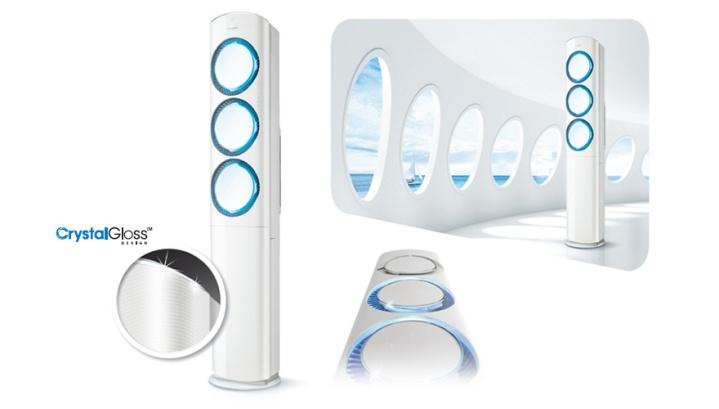 Conheça o modelo do Samsung Vertical AF9000: design arrojado e muita tecnologia. Fonte: samsung.com.
