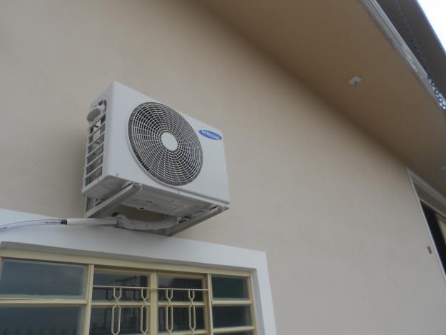Ar condicionado instalado