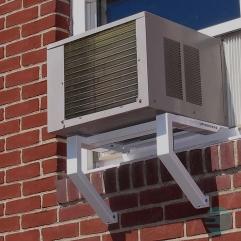Outro modelo de suporte. Não é recomendado se for utilizado em andares superiores.